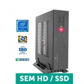 Computador Compusonic Mini (Pcw J1800 / 4Gb Ddr3 / D-Less / 60W) - Sem Serial