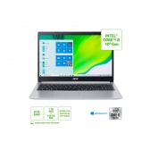 Notebook Acer A515-54-542R Intel Core I5 10210U 8Gb (2X4Gb) Ssd M.2 Pcie 128Gb + Hd 1Tb 15,6 Windows 10 Home Prata