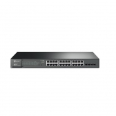 Switch Tp-Link Smart 24 Portas Giga Poe + 4 Portas Sfp T1600G-28Ps(Tl-Sg2424P)