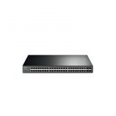 Switch Tp-Link Smart Giga Poe  48 Portas + 4 Portas Sfp Jetstream  T1600G-52Ps (Tl-Sg2452P)